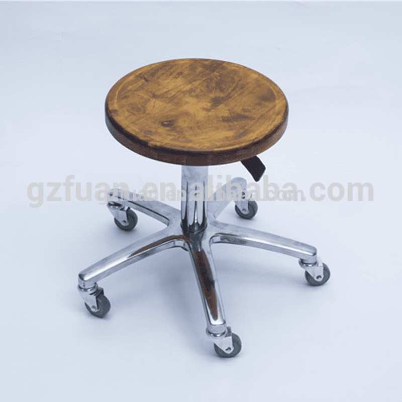 Salon furniture new style hydraulic pump five wheels salon stools master saddle chair hairdressing chair