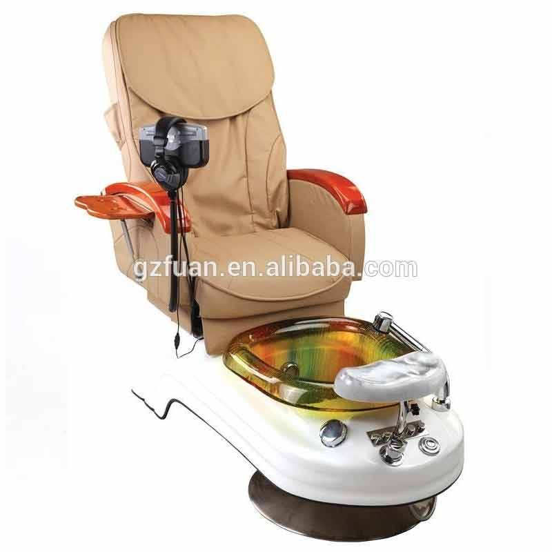 Comfortable Portable foot wash wholesale used tattoopedicure chair for sale