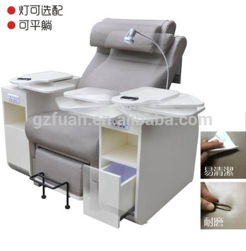 Wholesale beauty salon equipment modern luxury foot spa massage chair manicure spa pedicure chair for sale