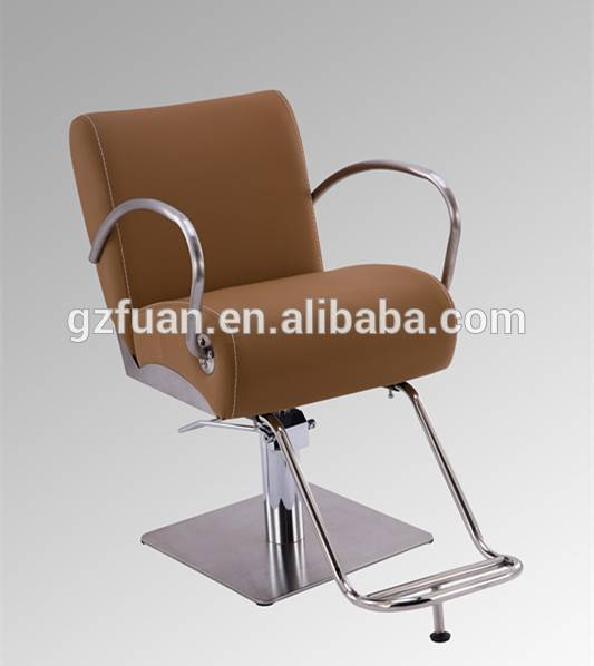 Stainless steel armrest hydraulic barber chair oil for salon