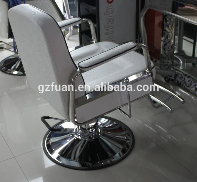 salon furniture manufacture white elegant cheap barber chair for sale