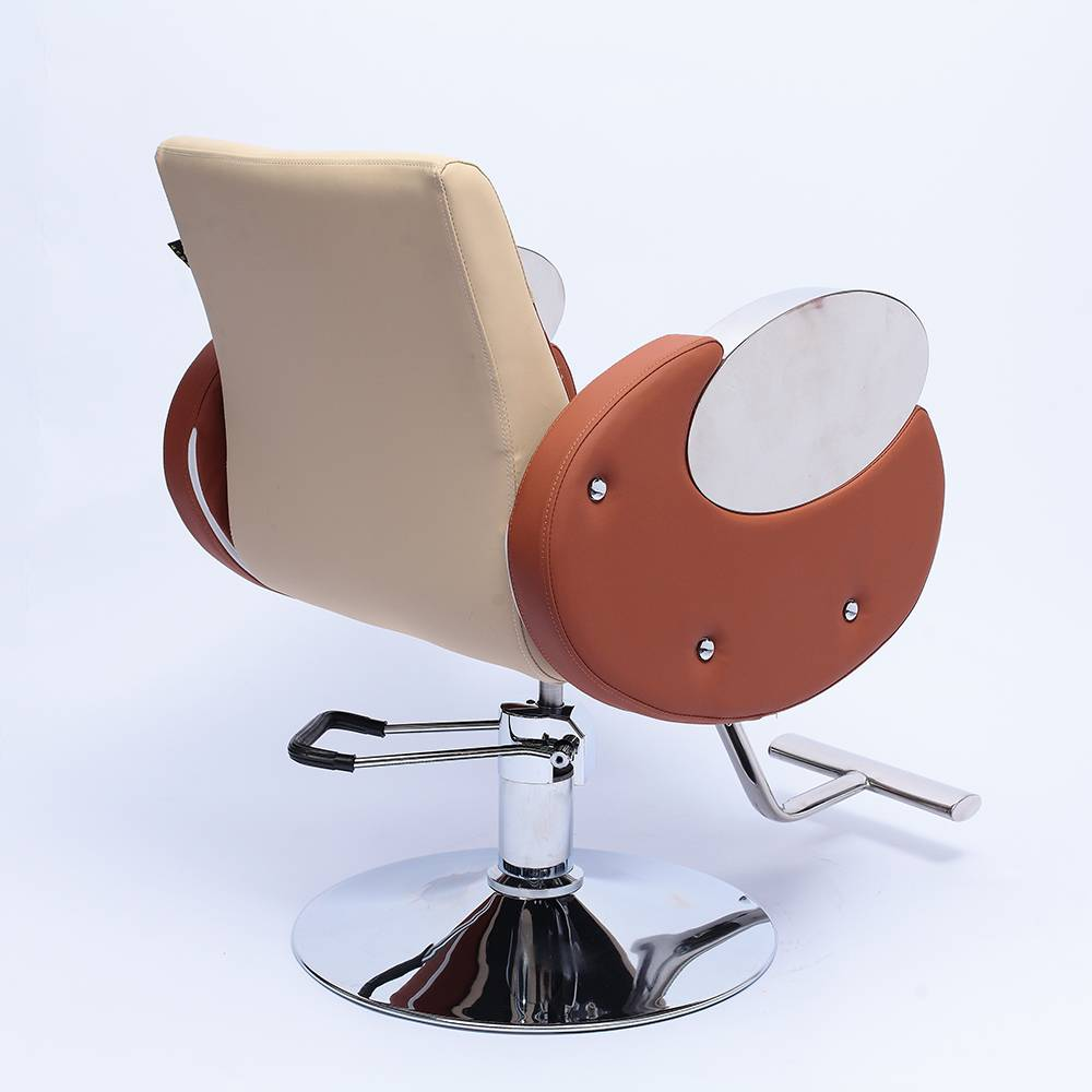 Stainless steel armrest modern cheap salon barber chair