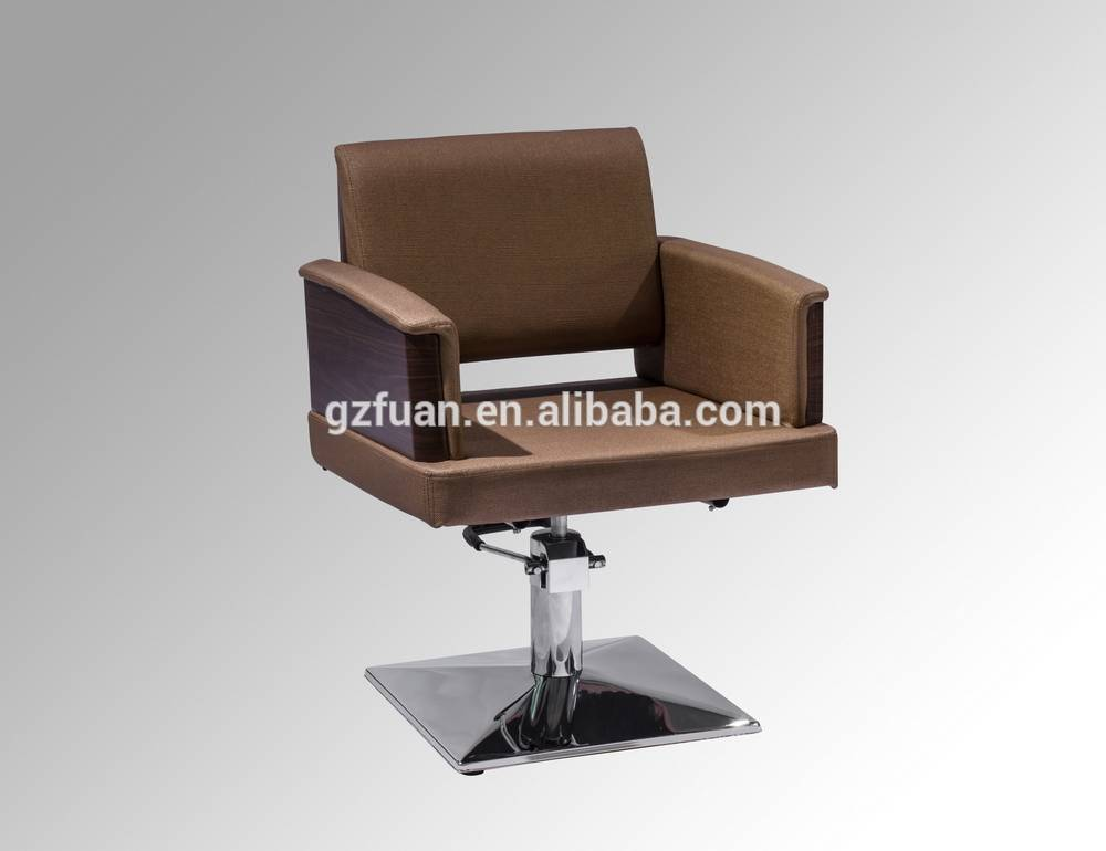 Upscale barber chair salon hair cutting chairs