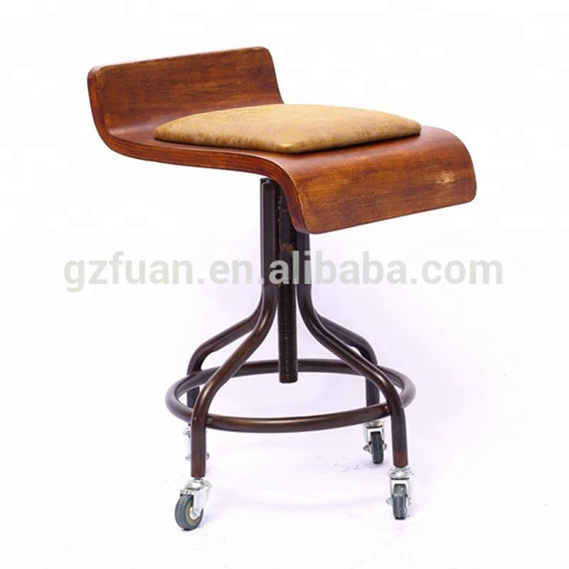 Guangzhou manufacturer good quality safe ergonomic salon saddle chair for sale