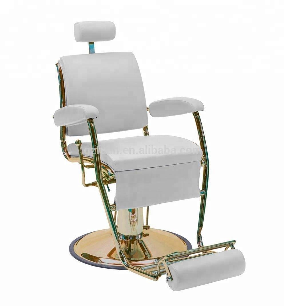 China suppliers wholesale beauty equipment furniture styling chair the barber's chair white salon hair chair