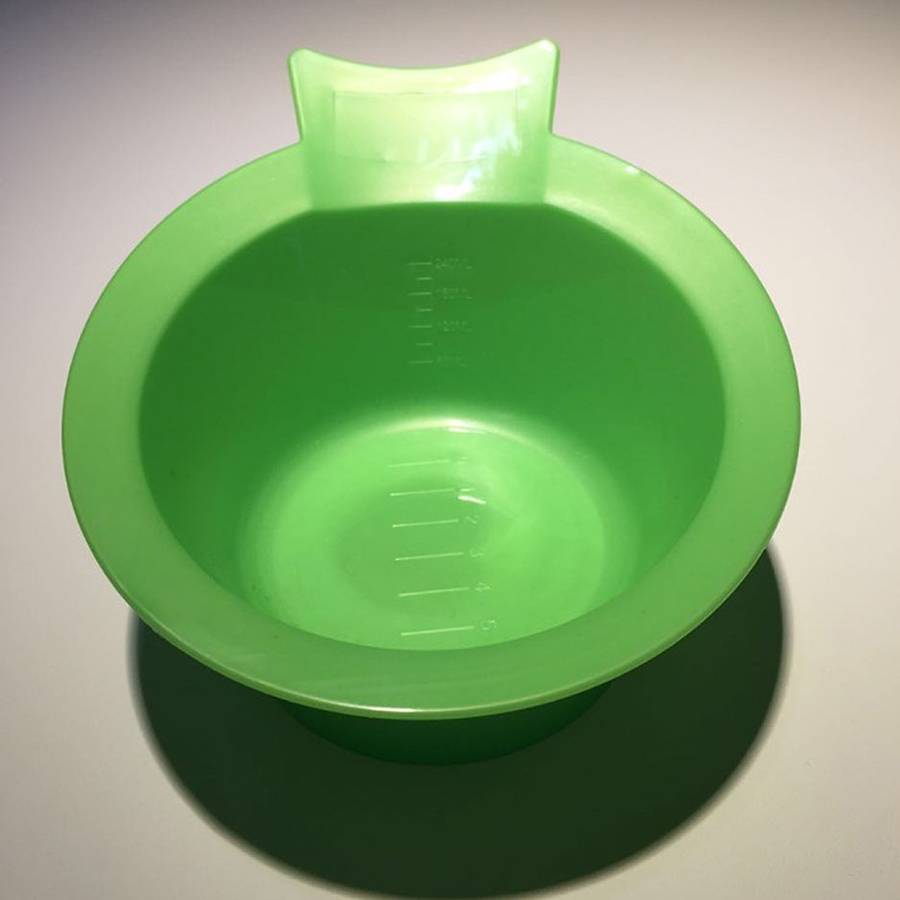cheap popular plastic hair dye mixing bowl for sale