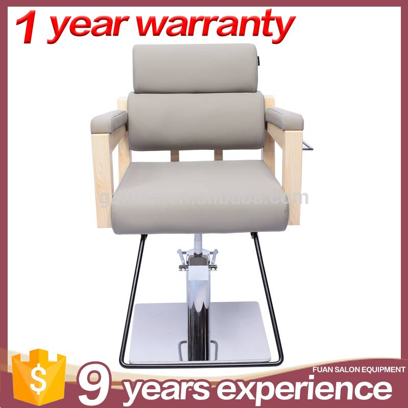 Salon furniture portable stainless steel wood painting reclining styling portable artist makeup chair for sale