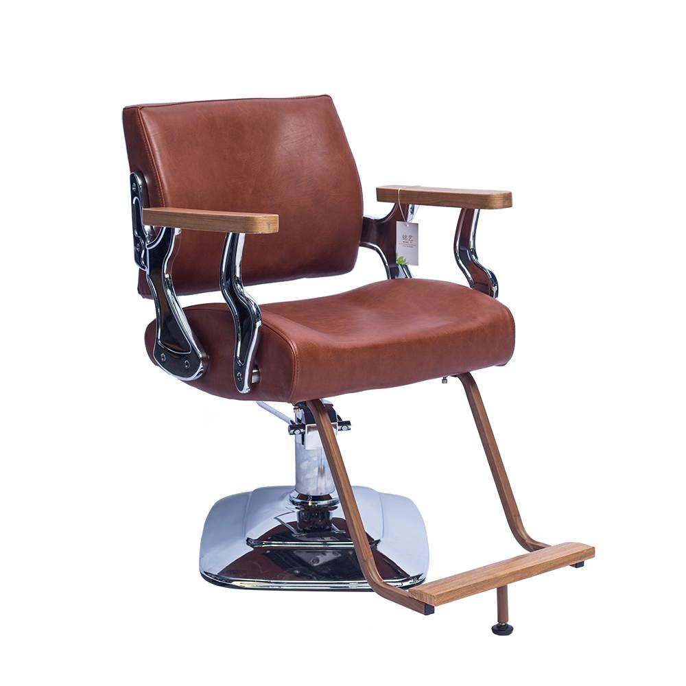 good quality hair salon furniture chair synthetic leather styling antique barber chair