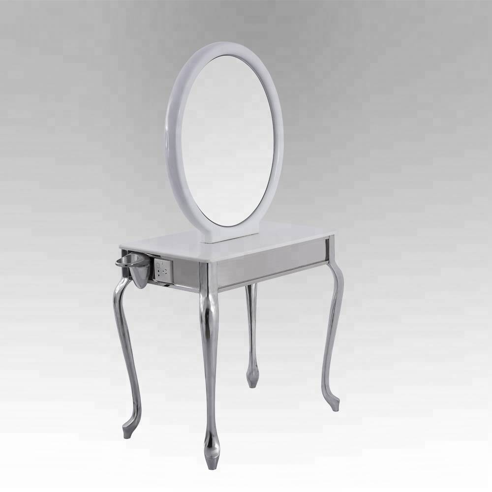 Cheap portable hairdressing salon equipment beauty wholesale barber mirror stations