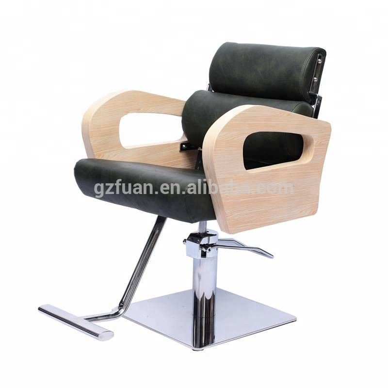 Stainless steel armrest barber styling chair used threading chair for sale