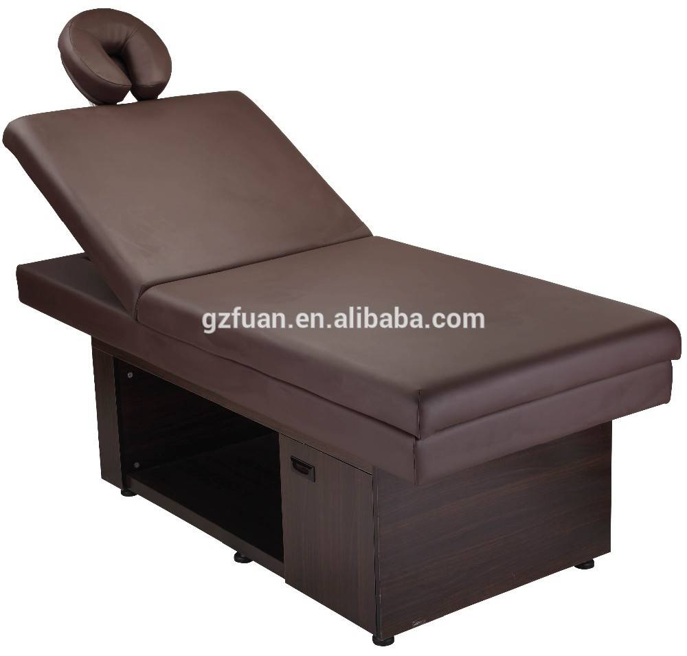 Salon furniture cheap hairdressing equipment lay down facial bed for sale