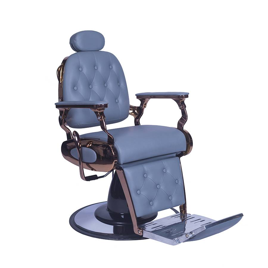 heavy duty all purpose hydraulic recline antique gold barber chair