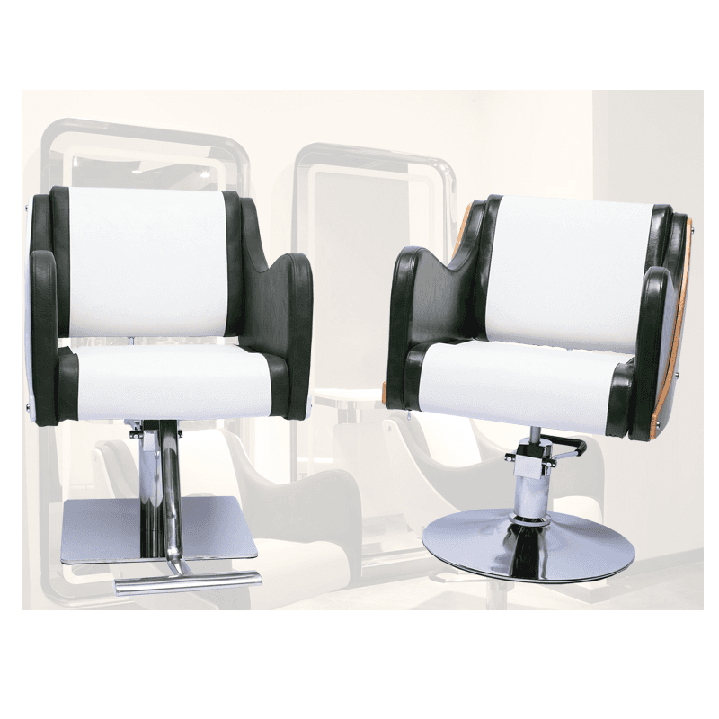 Fashion hydraulic pump second hand custom barber chair salon style chair for sale