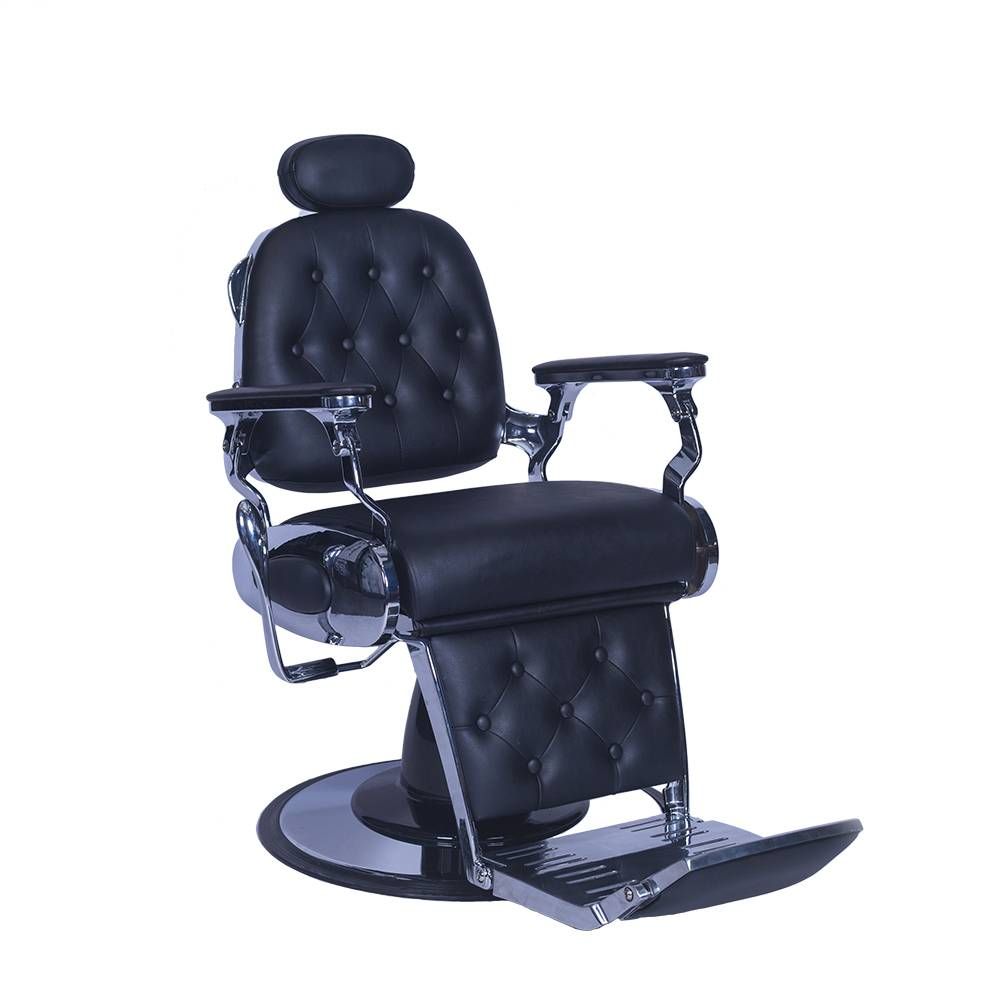 Professional Swivel Hydraulic Barber Chair Styling Salon Beauty Spa Shampoo Hair Styling Equipment Black