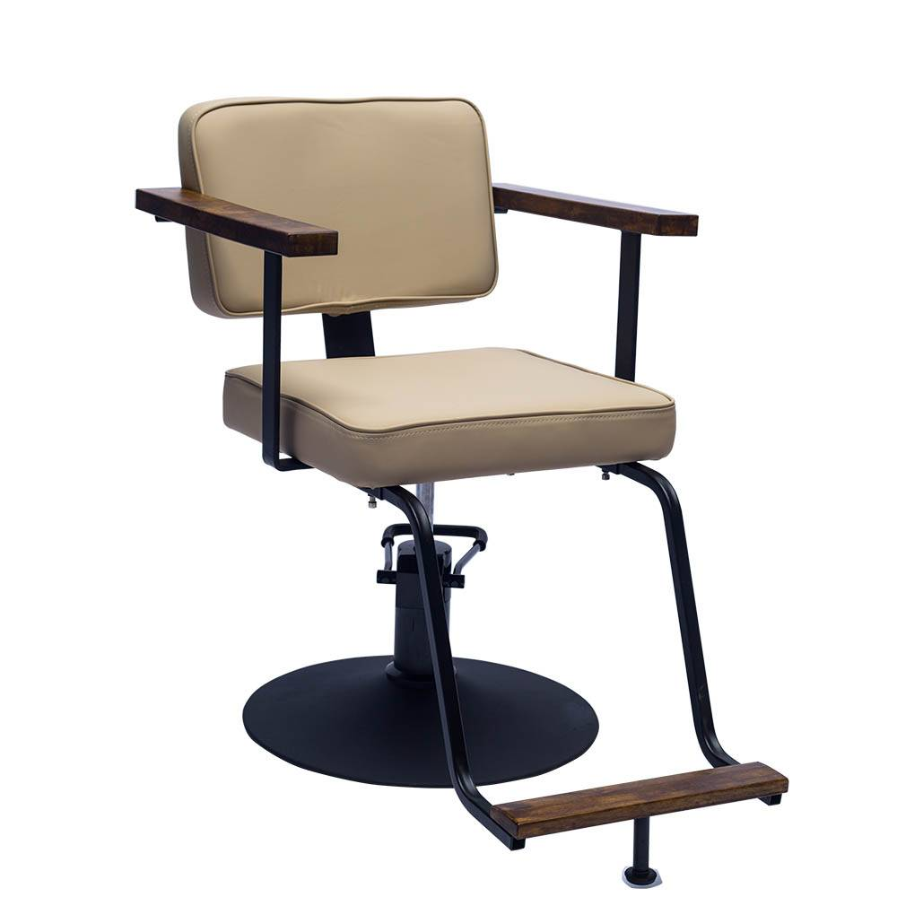 MingYi factory salon furniture simple style cheap barber vintage chair