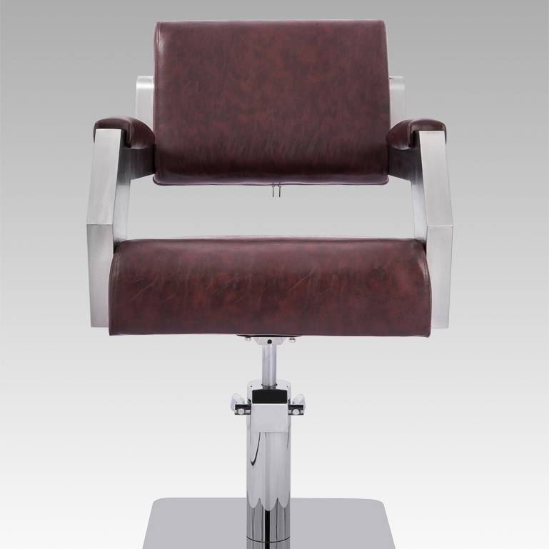 Wholesale stainless steel antique vintage barber chair hairdressing chair for salon