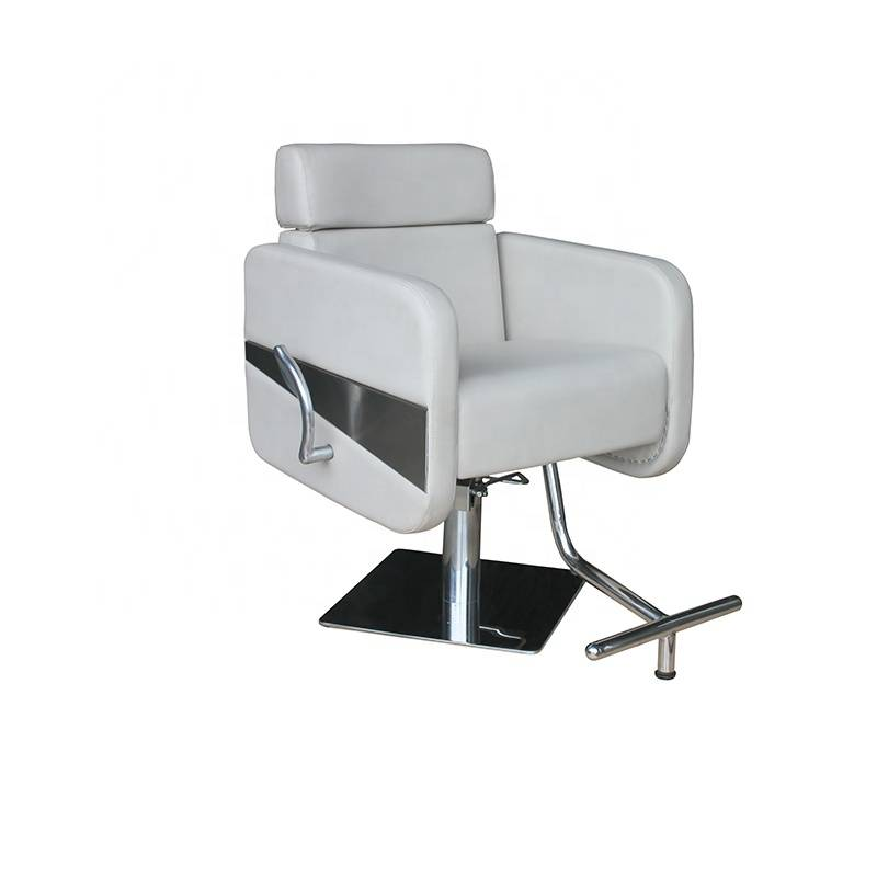 Wholesale Italy design luxury grey man hairdressig hair cutting beauty salon styling chair portable  barber chair hydraulic