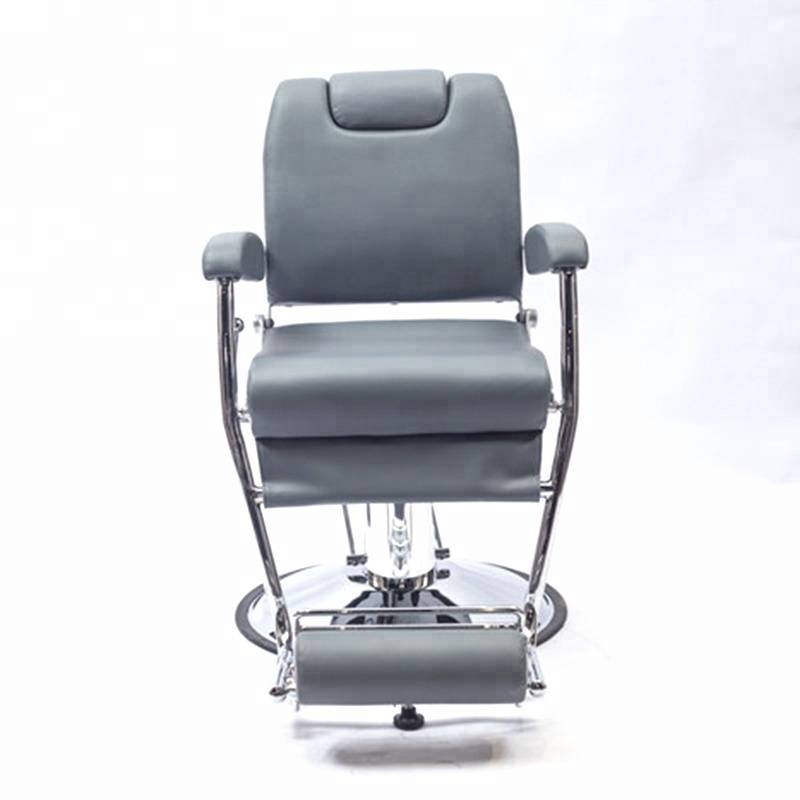 High density sponge fashionable barber chair modern beauty salon men's salon chair Featured Image