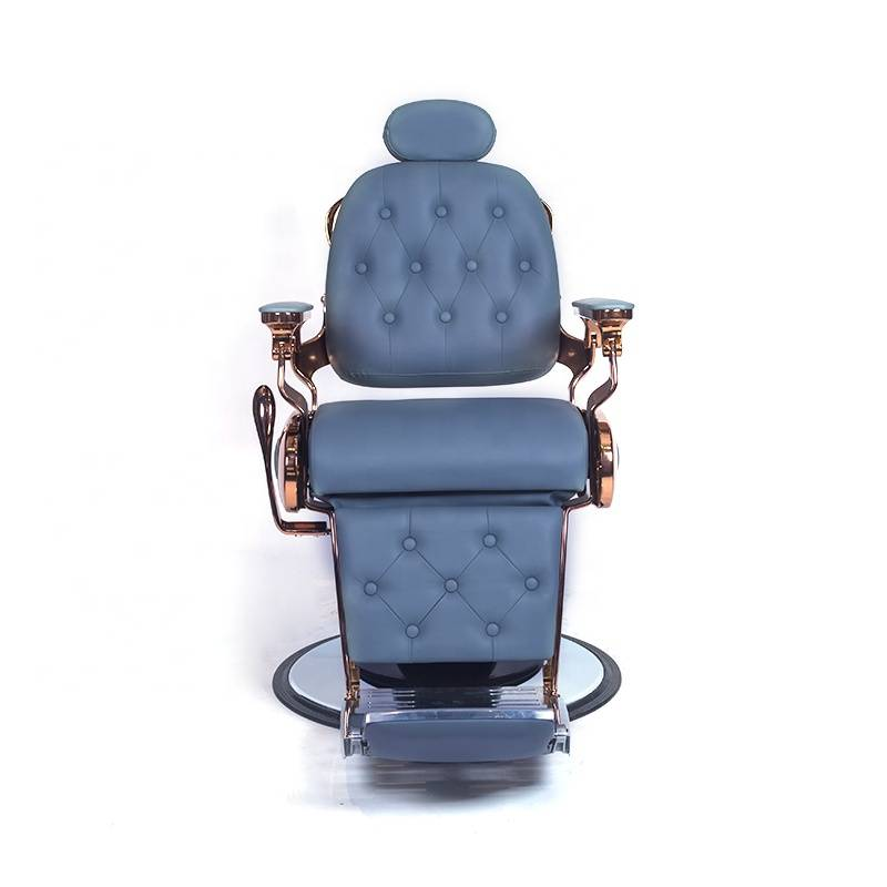 High quality heavy duty reclining hair cutting hairdressing vintage antique styling salon chair barber chair manufacturer