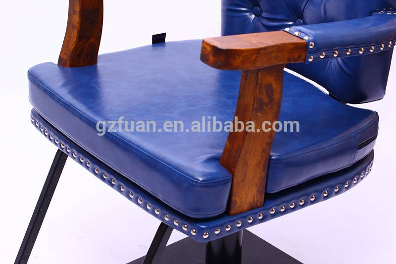 blue molding sponge synthetic leather kids styling chairs