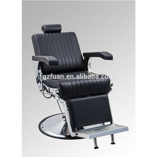 Salon furniture accessories styling reclining classic old style vintage heavy duty vintage barber chair
