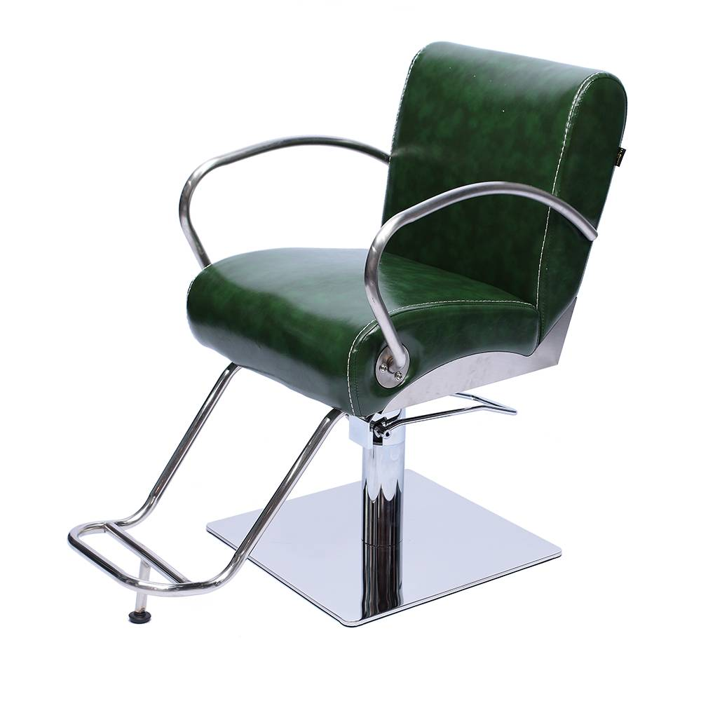 high quality cheap green vintage hair salon barber chair