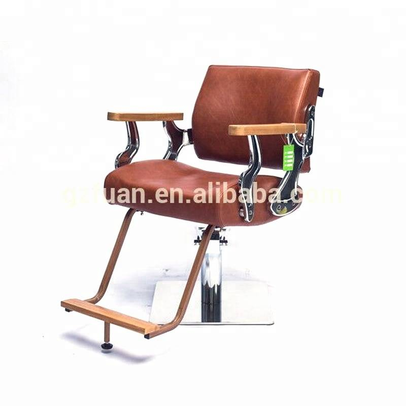 salon furniture beauty brown antique barber chairs for sale