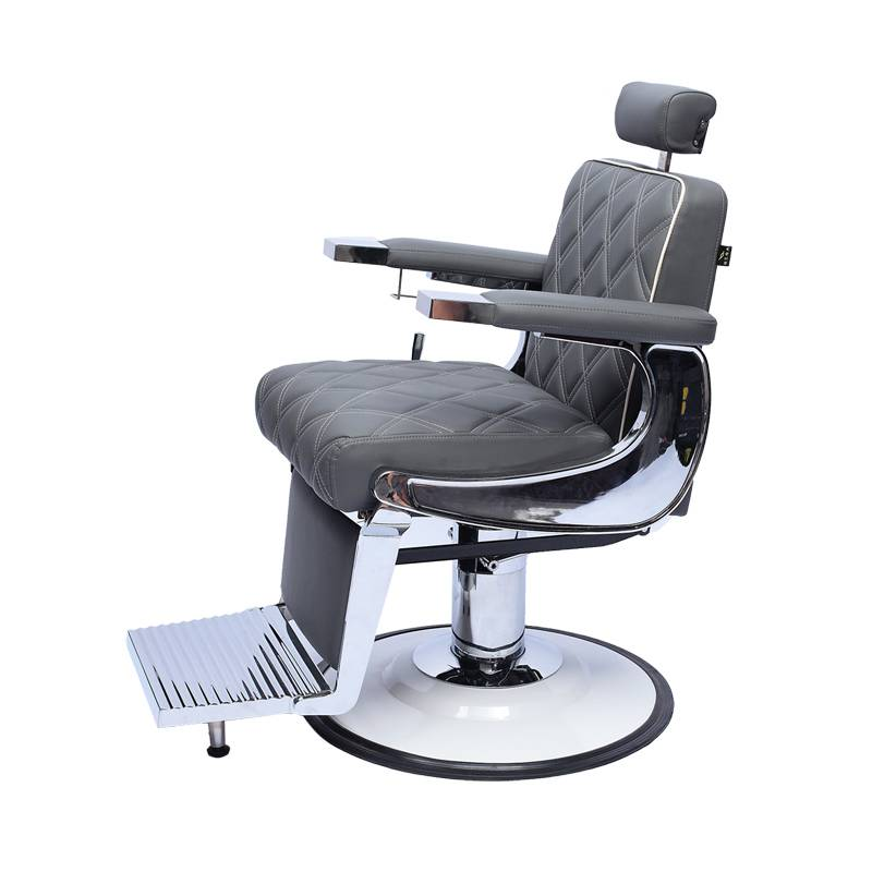 Genuine leather salon furniture man heavy duty hairdressing barber chair reclining chair Featured Image
