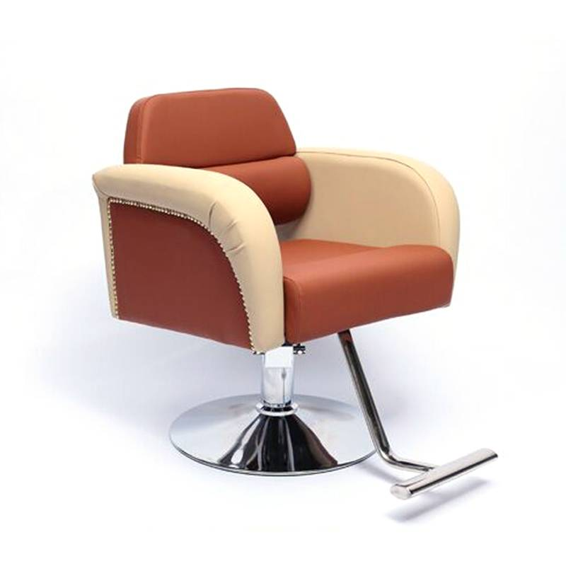 Fashionable durable salon furniture hairdressing chairs barber styling chair salon for sale