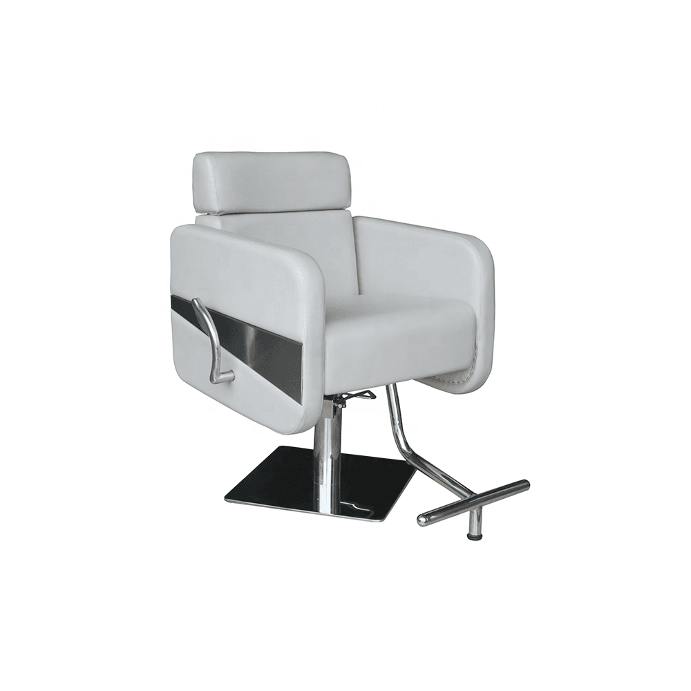 barber chair manufacturer wholesale portable hydraulic pump stainless steel base hair salon chair hair cutting styling chair