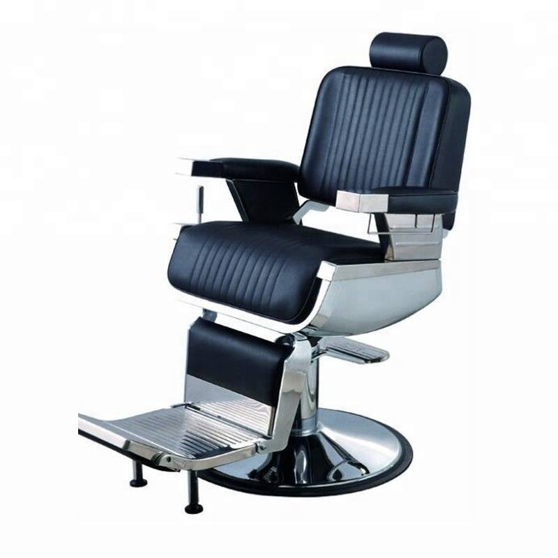 Custom wholesale price beauty salon equipment hydraulic reclining hairdressing chair barbershop styling barber chairs for sale