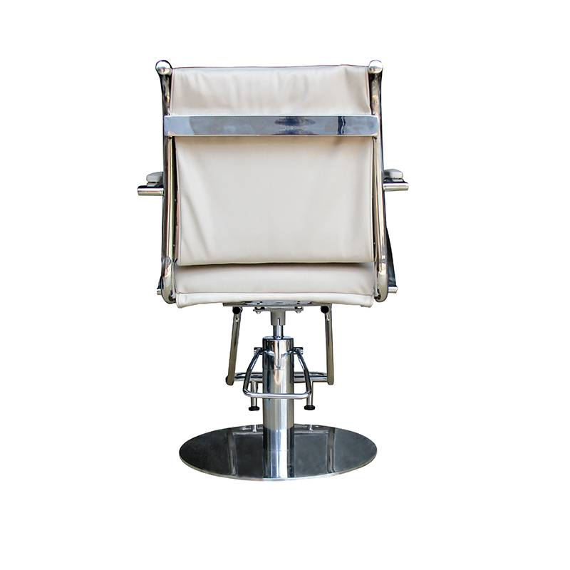 Guangzhou manufacturer beauty salon equipment synthetic leather hairdressing chairs salon styling chairs
