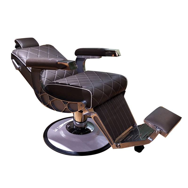 China salon equipment suppliers high density foam sponge stainless steel armrest modern salon chairs hydraulic barber chair
