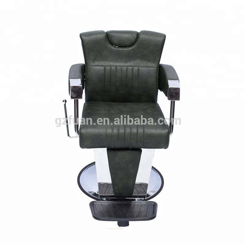 Wholesale special design synthetic leather salon barber chair with powerful hydraulic pump