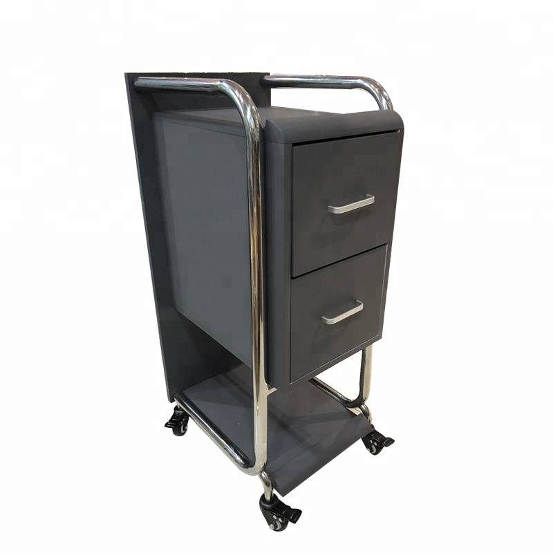 modern salon equipment cheap portable hair trolley hairdressing trolleys on wheels salon rolling trolley cart