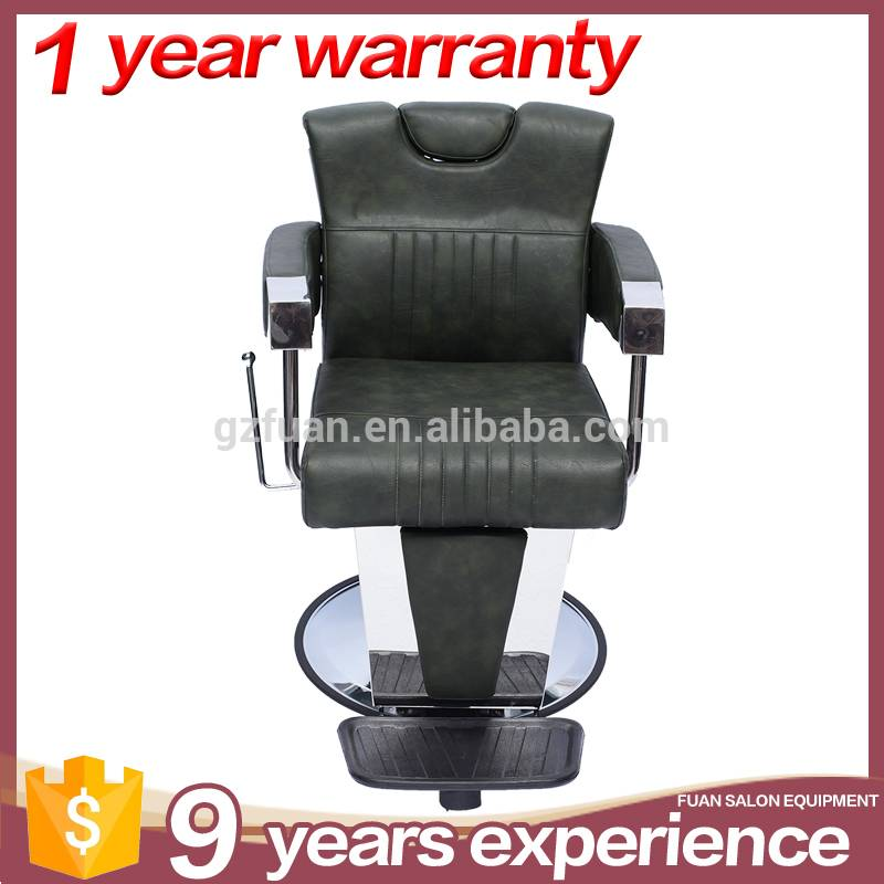 Professional high density sponge barbershop salon furniture hydraulic pump reclining salon hair styling chairs for sale