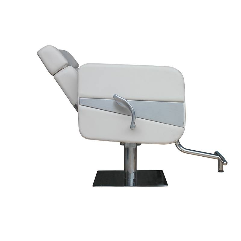 Manufacturer standard Beauty Hair Salon Cutting Chairs Barber Shop Equipment Hydraulic Reclining Styling Chair