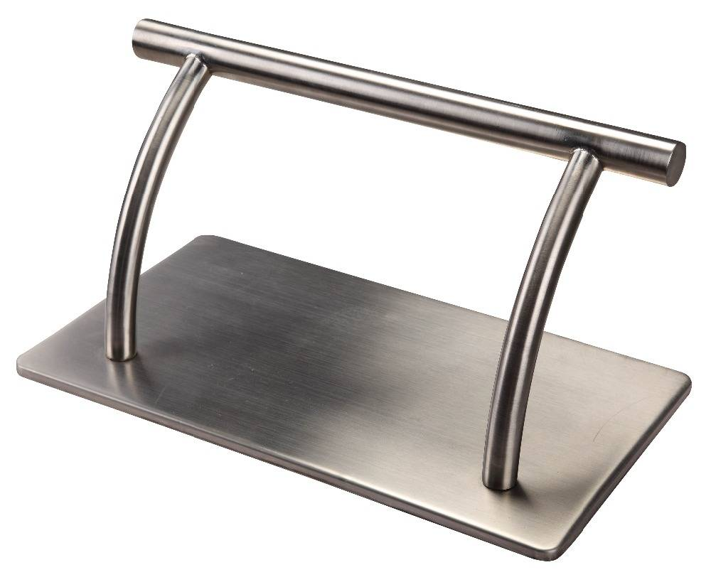 Stainless steel footrest for hair salon barber chair