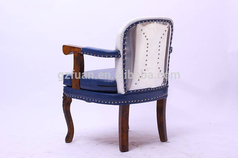 Beauty salon furniture barbershop styling chair synthetic leather wood frame beauty parlour chair