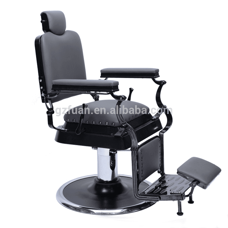 Hair salon used furniture hydraulic big pump modern luxury massage styling chair barber chairs for sale