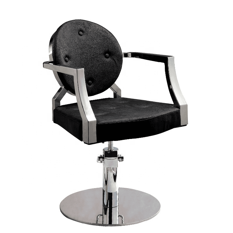 Luxury antique classic china small hydraulic hair salon styling chair custom quality professional barber chair for man women