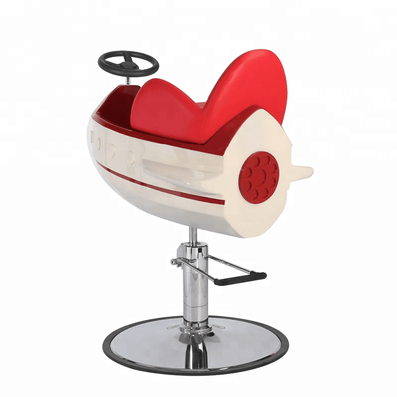 Synthetic leather newest cartoon salon children barber chairs kids salon chair Featured Image