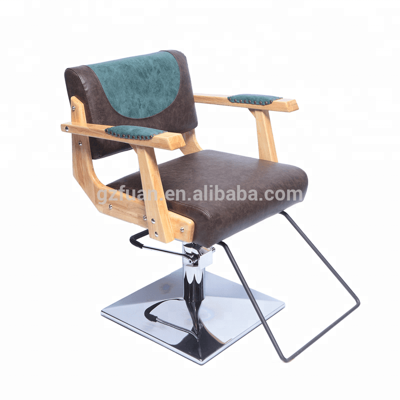 Fashion new design cheap elegant portable salon furniture men's barber chair