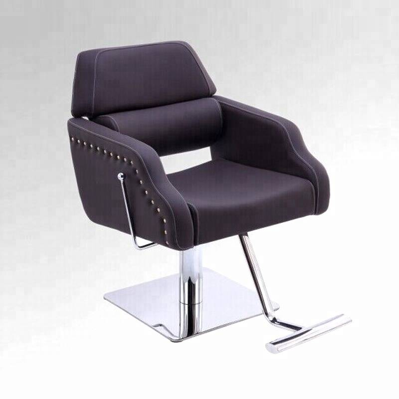 Custom salon chair sizes beauty barbershop furniture adjustable backpillow manual reclining hydraulic hair salon styling chair Featured Image
