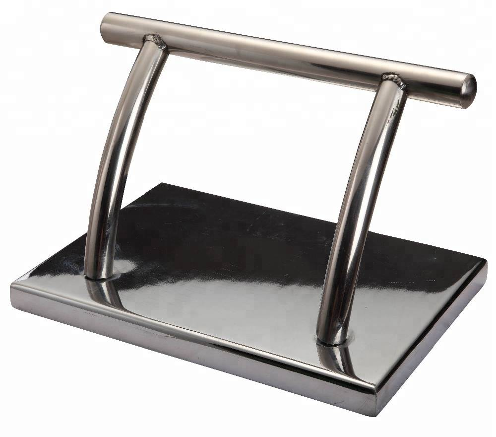 salon accessories chrome footrest cover for chairs,salon chair footrest