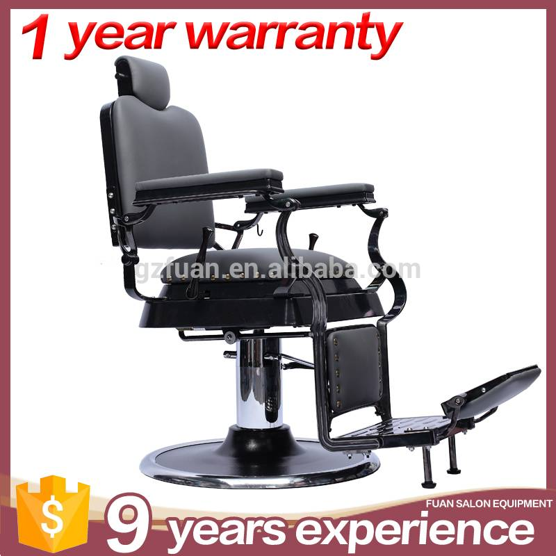 OEM durable high density sponge hydraulic threading chair used baber shop styling chair for sale