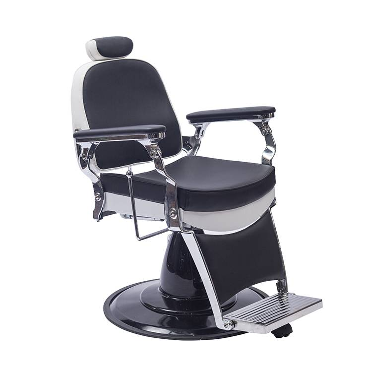 salon spa beauty shampoo equipment stainless steel foldable barber chair heavy duty