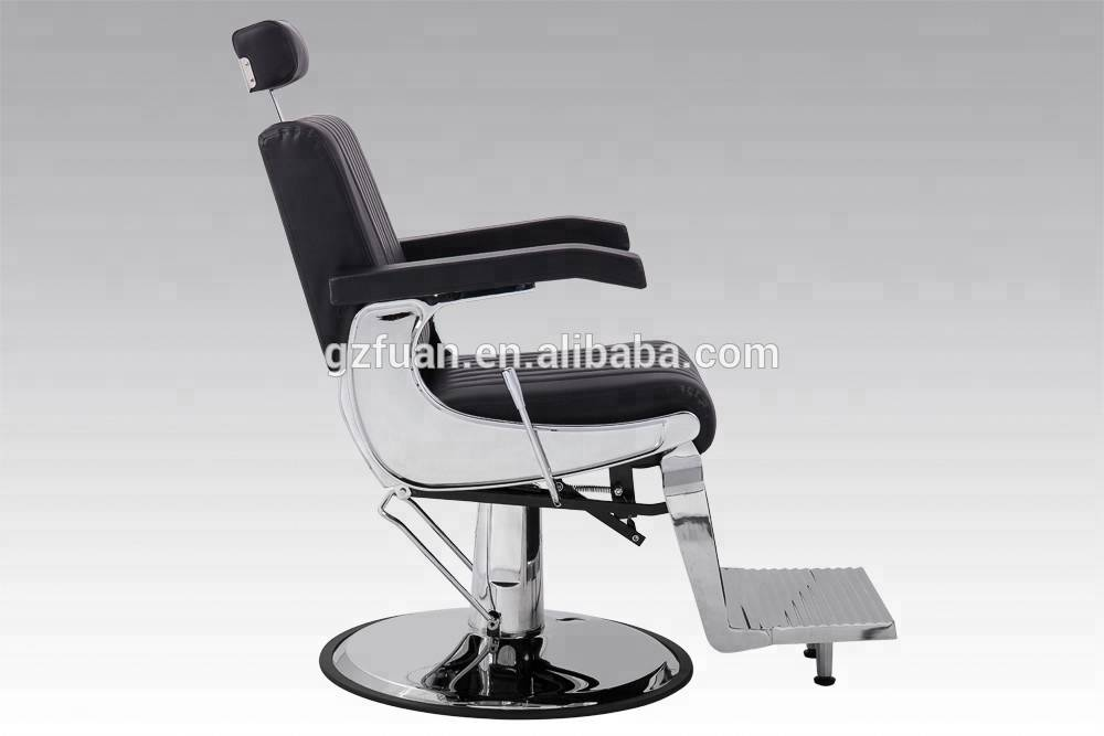 Strong reclinging barber chair of salon equipment