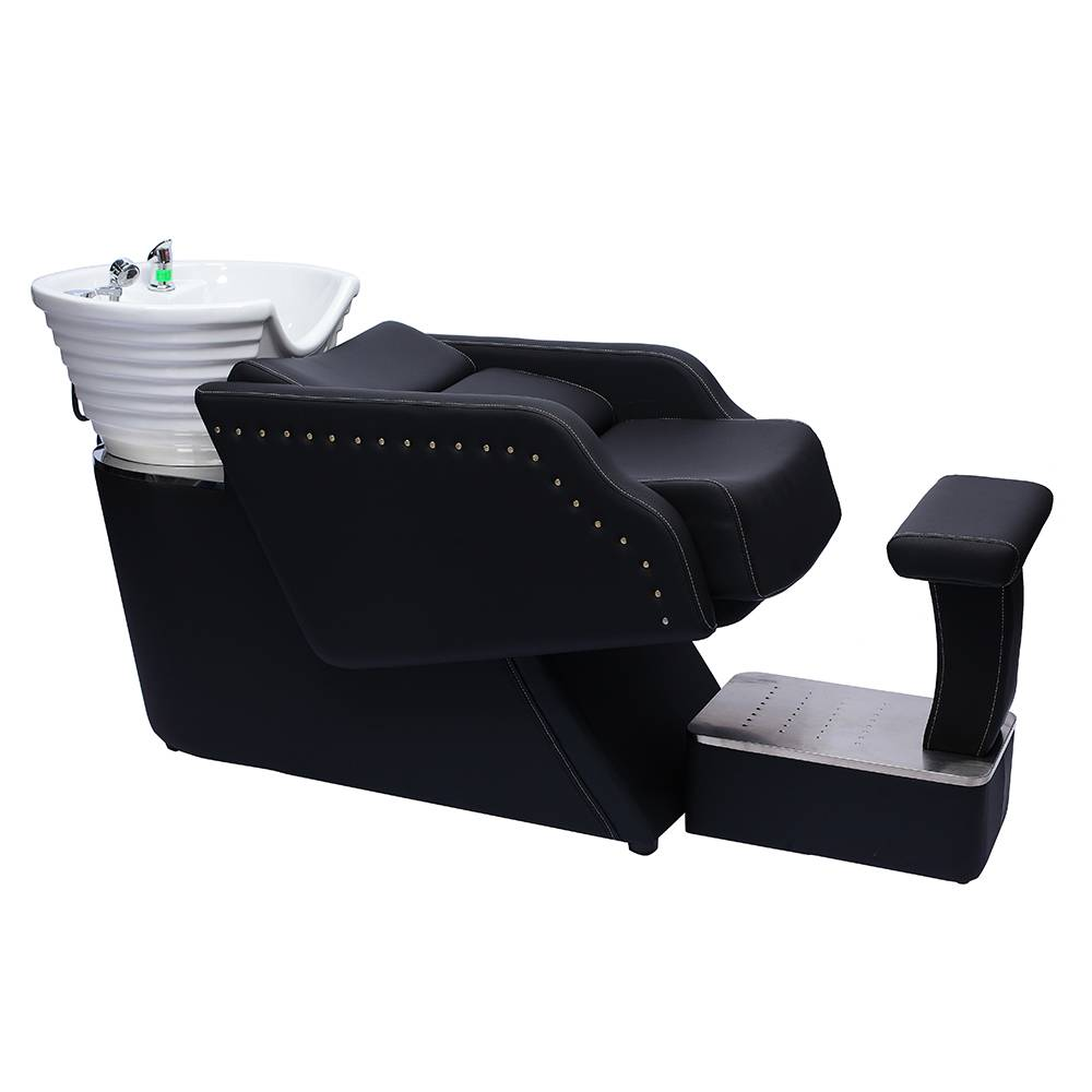 Factory Cheap Customized Leather Colors Are Available Modern Massage Salon Shampoo Chair Bed