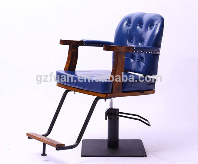 New style wooden frame synthetic leather barberchair for salon